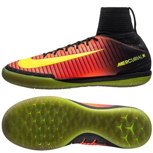 new products c21f7 7d14b Nike MercurialX Proximo II IC Total Crimson Volt Black Kids. Read more  about the product. - indoor shoes. - indoor shoes image shadow