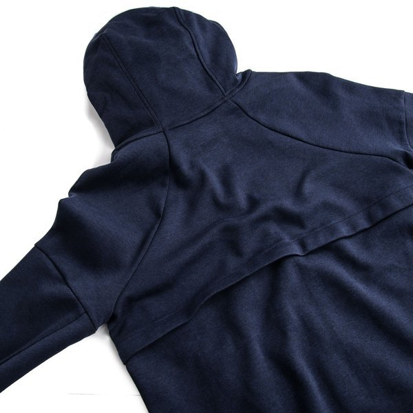 4406ed8ecec2 nike hoody tech fleece obsidian heather obsidian black women -