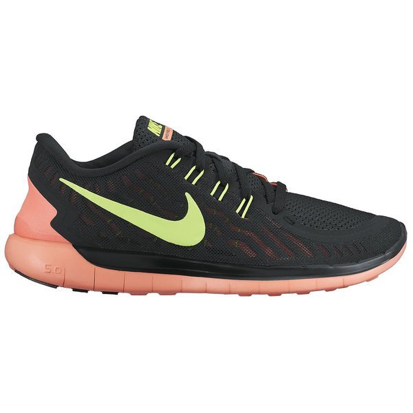 8a5e7ea27385 120.00 EUR. Price is incl. 19% VAT. -55%. Nike Free Running Shoe 5.0 Black  Volt Bright Mango Women