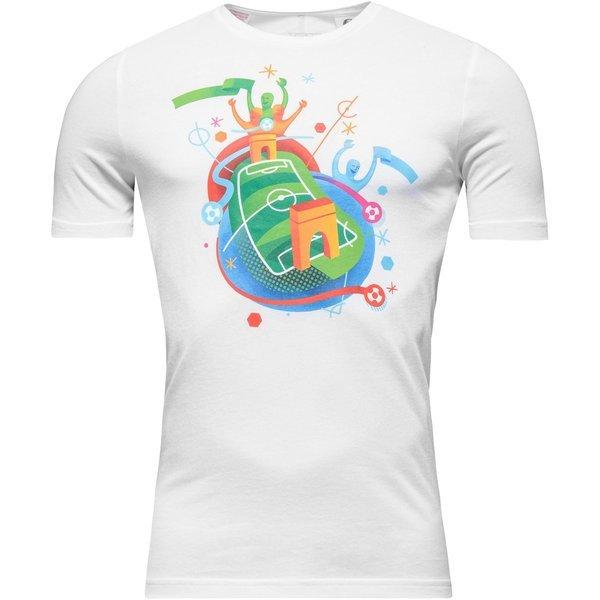 T 16 White Euro Stadium Adidas Shirt Kids Rjq354LA