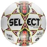 Select Fodbold Brillant Super Alka Superliga - Hvid/Rød