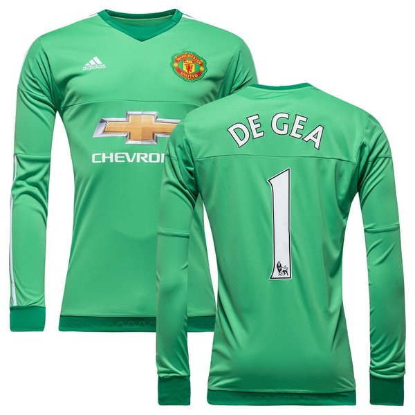 448dd983d Manchester United Goalkeeper Shirt 2015 16 Semi Flash Lime DE GEA 1 Kids.  Read more about the product. - football shirts image shadow
