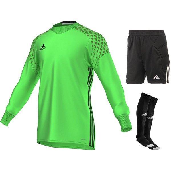 Adidas Goalkeeper Kit Onore 16 Solar Lime Black Kids Www
