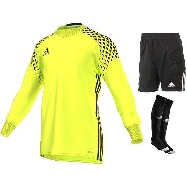 46281b1c288 adidas Goalkeeper Kit Onore 16 Solar Yellow Black