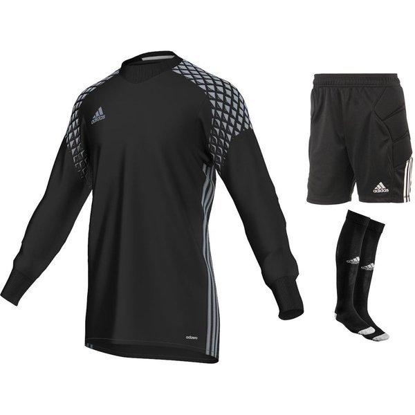 53e239ecbda adidas Goalkeeper Kit Onore 16 Black Kids | www.unisportstore.com