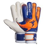 Precision Torwarthandschuhe Fusion-X Giga Surround Grip Blau/Orange