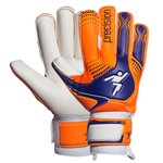 Precision Torwarthandschuhe Fusion-X Replica Roll Orange/Blau