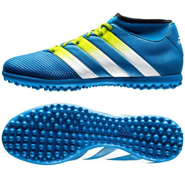 adidas ace 16.3 primemesh tf shock blue semi solar slime white ... c3ecbc8a424
