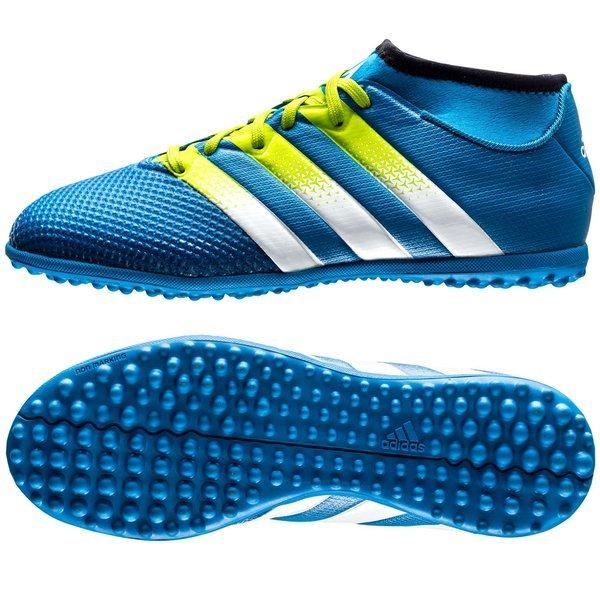 low priced e9201 59697 adidas ACE 16.3 Primemesh TF Shock Blue/Semi Solar Slime ...