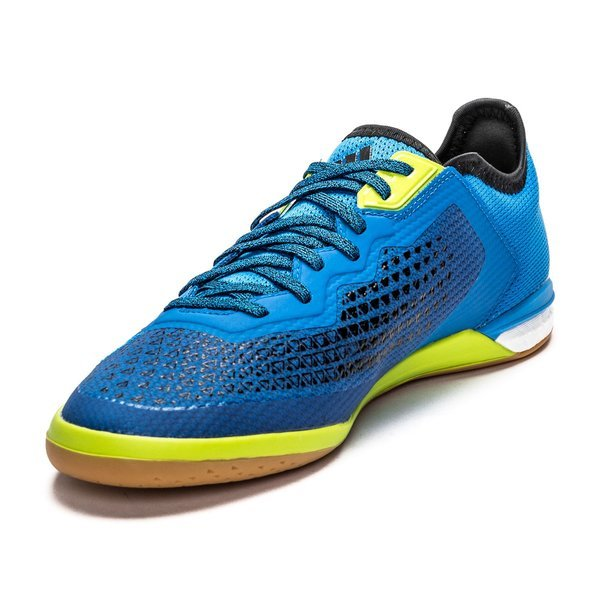 huge selection of 66129 66274 adidas Ace 16.1 Court Boost IN Shock Blue/Night Metallic ...
