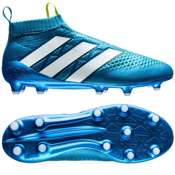 5ce2f6ff1 300.00 EUR. Price is incl. 19% VAT. -15%. adidas ACE 16+ PureControl FG AG Shock  Blue Semi Solar Slime White