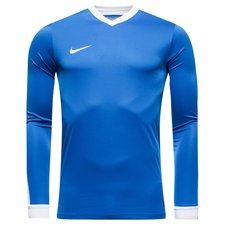 Frisk nyt design i Striker-serien fra giganten Nike, fremstillet i 100% polyester. Trøjen er fremstillet i Dri-FIT materiale, som henleder sved væk fra huden