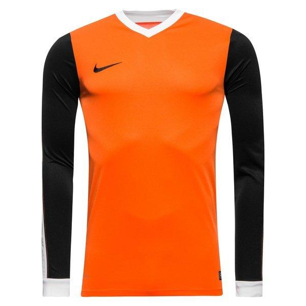 Nike Football Shirt Striker IV L S Safety Orange Black  5a3ec1fd2430