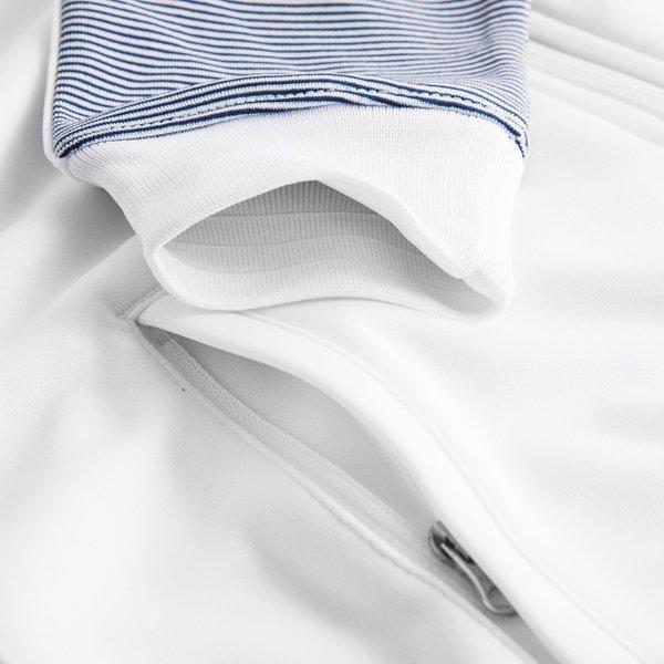 41ad8c631f24d France Veste de Survêtement Authentic N98 Blanc Bleu - Femme   www ...