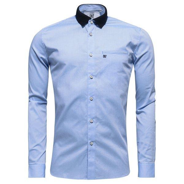 CR7 Skjorte Slim Fit Blå | unisportstore.no