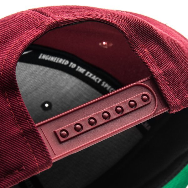 03bf07e08f1 Portugal Cap Snapback Core Team Red Pine Green Black