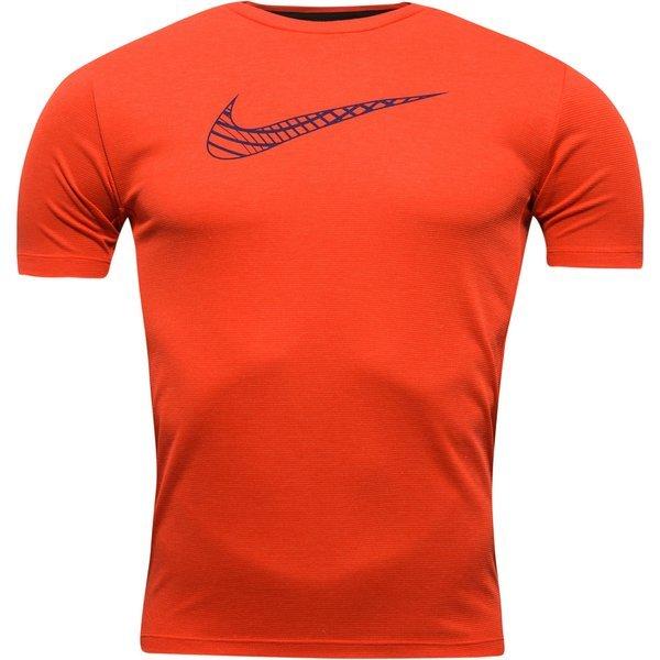 Nike T Shirt d'Entraînement Dri FIT Rouge Junior Enfant