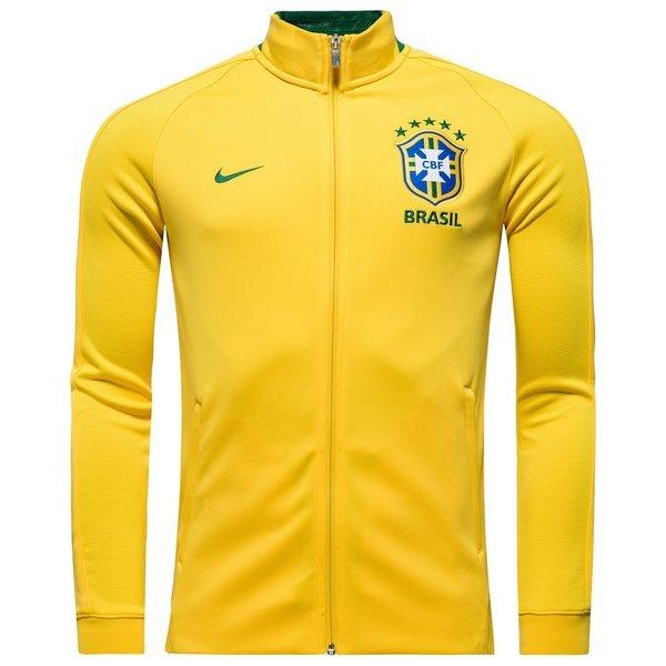 more photos 8a10a 596b6 brésil veste de survêtement authentic n98 jaune ...