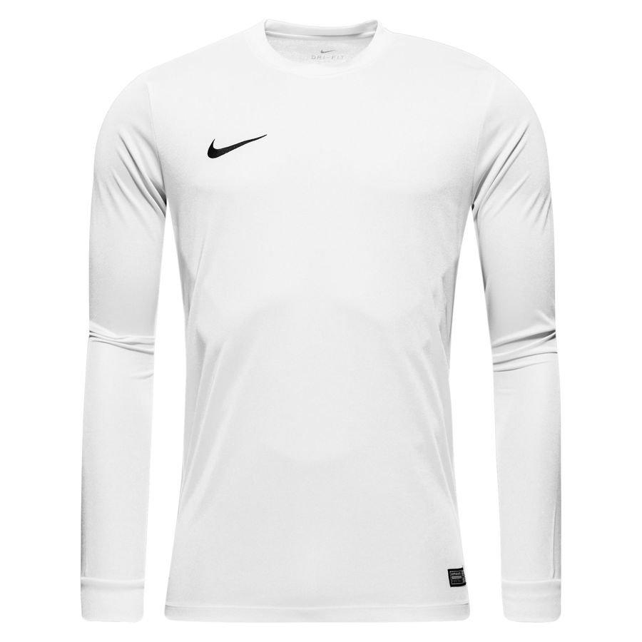 Nike Spilletrøje Park VI L/Æ Hvid Børn thumbnail