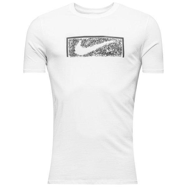 Nike T Shirt Swoosh Goal White