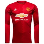 Manchester United Maillot Domicile Manches Longues 2016/17