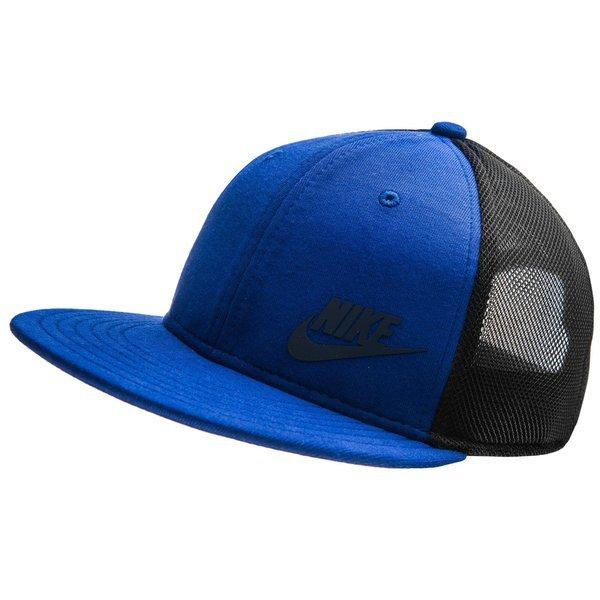 Nike Snapback Swoosh Blau/Schwarz Kinder   www.unisportstore.de