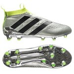 adidas ACE 16+ PureControl FG/AG Mercury Silver Metallic/Core Black/Solar Yellow