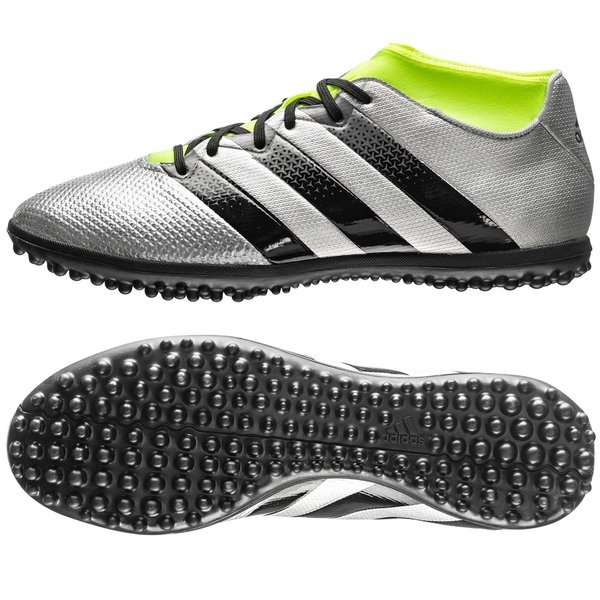 reputable site c75a6 f0d46 adidas ACE 16.3 Primemesh TF Mercury Silver Metallic Core Black Solar Yellow.  Read more about the product. - football boots. - football boots image shadow