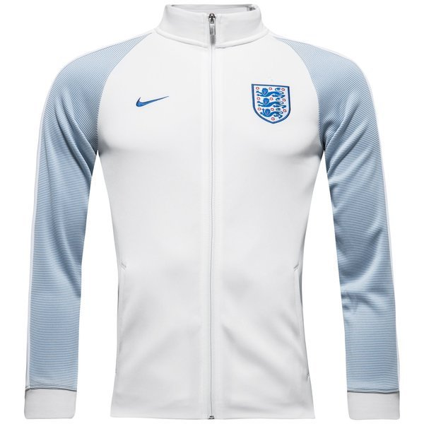 Boys England Authentic N98 White/Blue Grey/Sport Royal