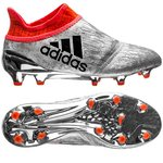 adidas X 16+ PureChaos FG/AG Mercury Silber/Schwarz/Rot Kinder