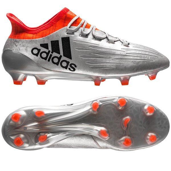 d0ec21b7f2 adidas X 16.1 FG AG Mercury Silver Metallic Core Black Solar Red ...