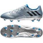 adidas Messi 16.1 FG/AG Mercury Argenté/Noir/Bleu