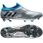 adidas Messi 16+ PureAgility FG/AG Mercury Silver Metalic/Core Black/Shock Blue