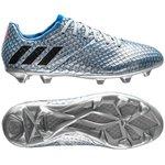 adidas - Messi 16.1 FG/AG Mercury Argenté/Noir/Bleu - Enfant