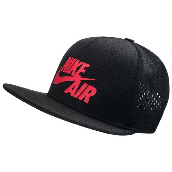 fabrication habile la plus récente technologie section spéciale Nike Casquette Snapback Air Pivot True Noir/Rouge | www ...
