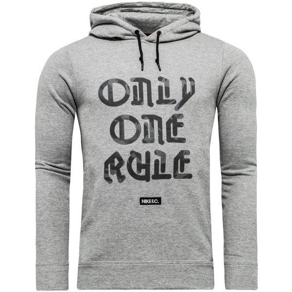 Nike F.C. hoodie grey heather