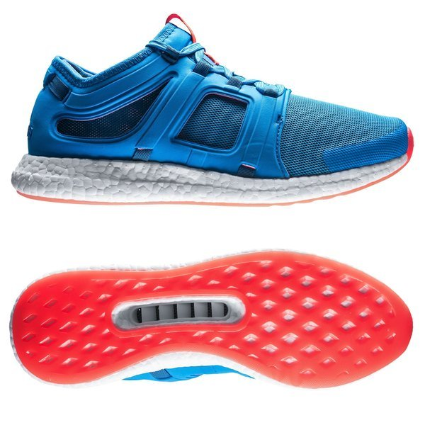 adidas Running Shoe Climachill Rocket Boost - Blue/Red