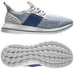 adidas Running Shoe Pure Boost ZG Limited Edition Crystal White/Collegiate Royal