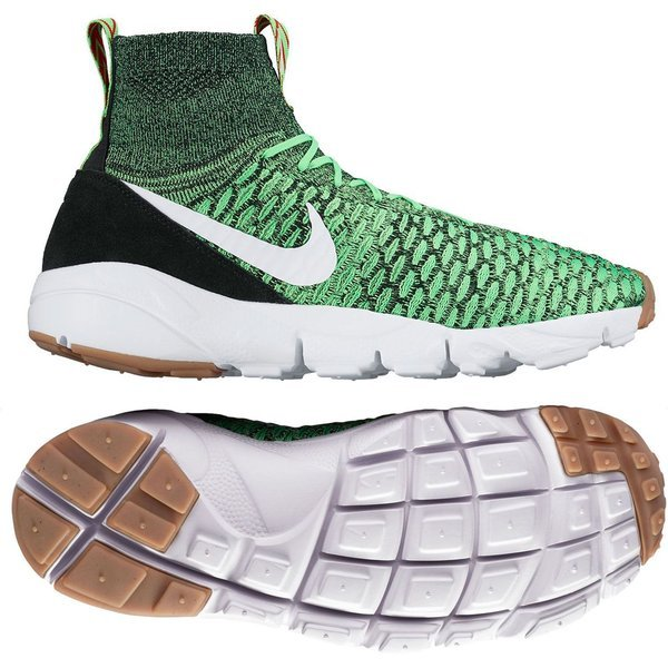 size 40 7abe9 ad291 Nike Air Footscape Magista Flyknit Deep Poison Green White. Read more about  the product. - sneakers image shadow