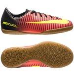 Nike MercurialX Vapor IC Rot/Neon/Schwarz Kinder