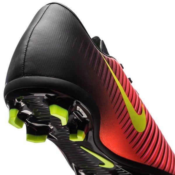 reputable site 6cadd 01fd4 Nike - Mercurial Vapor XI FG Röd Neon Svart Barn. Produkten är slut