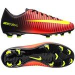 Nike Mercurial Vapor XI FG Rot/Neon/Schwarz Kinder