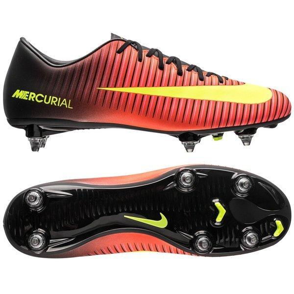 Nike Mercurial Victory VI SG RougeJaune FluoNoir