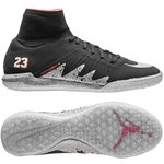 Nike HypervenomX Proximo Neymar x Jordan IC Schwarz/Silber/Rot