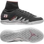 Nike HypervenomX Proximo Neymar x Jordan IC Schwarz/Silber/Rot Kinder