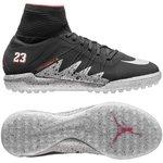 Nike HypervenomX Proximo Neymar x Jordan TF Schwarz/Silber/Rot Kinder