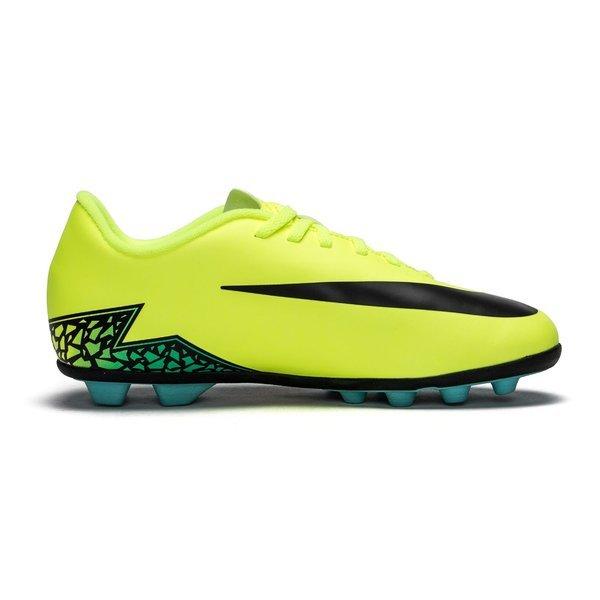 Nike Hypervenom Phade II FG NeonSortTurkis Børn