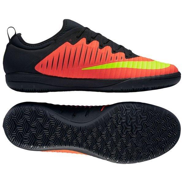 online store 28fce 7b26f Nike - MercurialX Finale II IC Röd Neon Svart