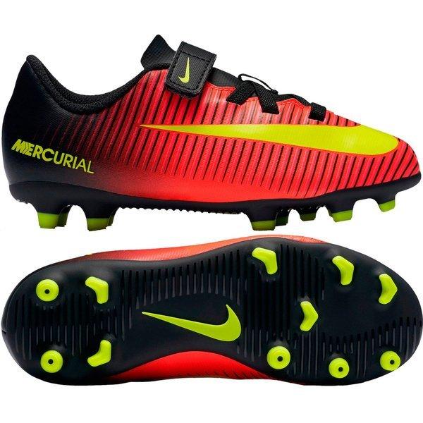 newest 58078 b73c8 45.00 EUR. Price is incl. 19% VAT. -40%. Nike Mercurial Vortex III FG Total  Crimson Volt Black Kids