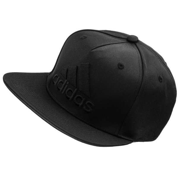 adidas Flat Cap Black  4281114b8bd